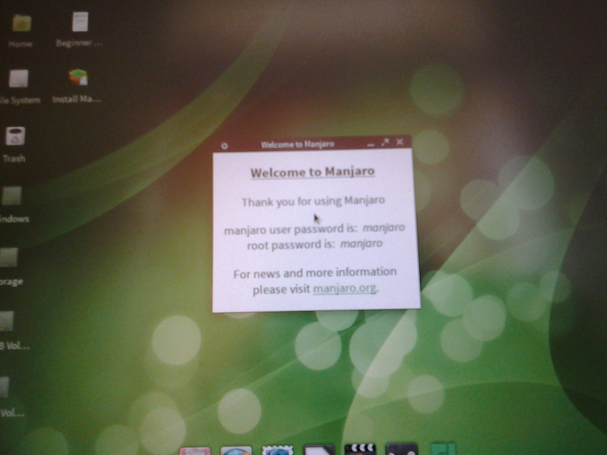 Setting up Manjaro Linux 0 8 6 on HP TC4400 tablet PC