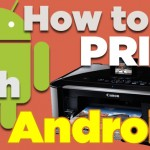 How to print a custom document from an Android phone