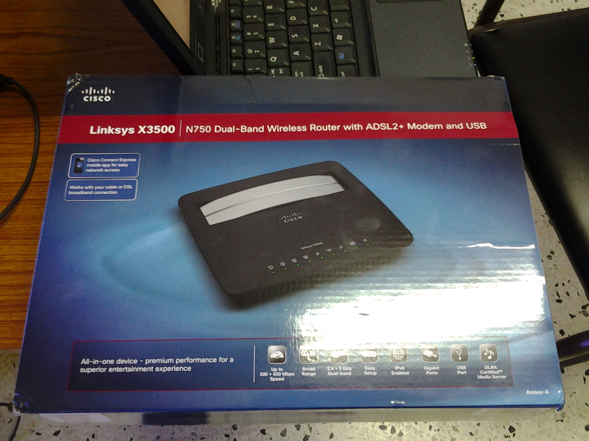 Cisco Linksys X3500 review: the ultimate all-in-one home router ...