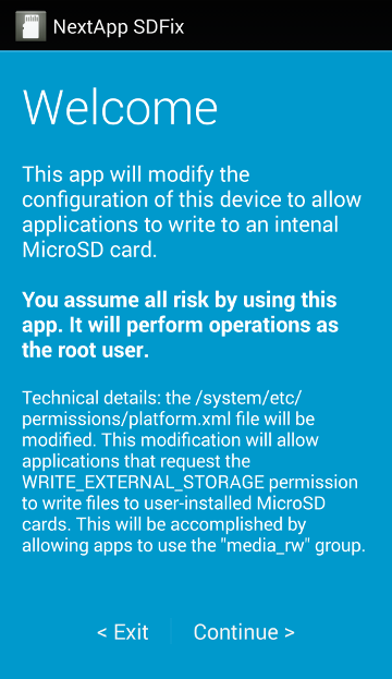 Fixing external SD card write issue on Android 4 4 KitKat | Techno FAQ