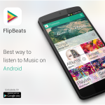 FlipBeats music player: Simplicity without compromise