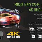 MINIX NEO X8-H – 4K2K UHD Video Playback