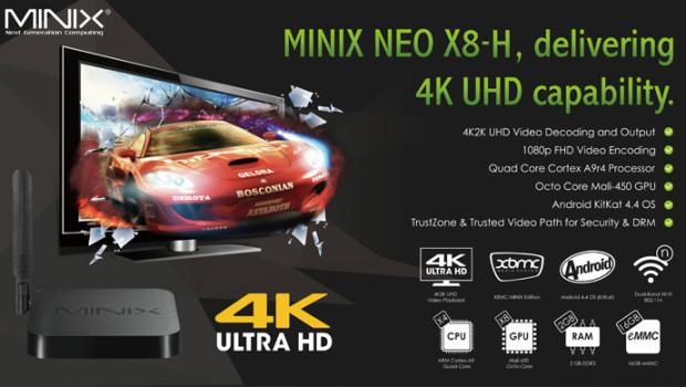 NEO X8-H - Black