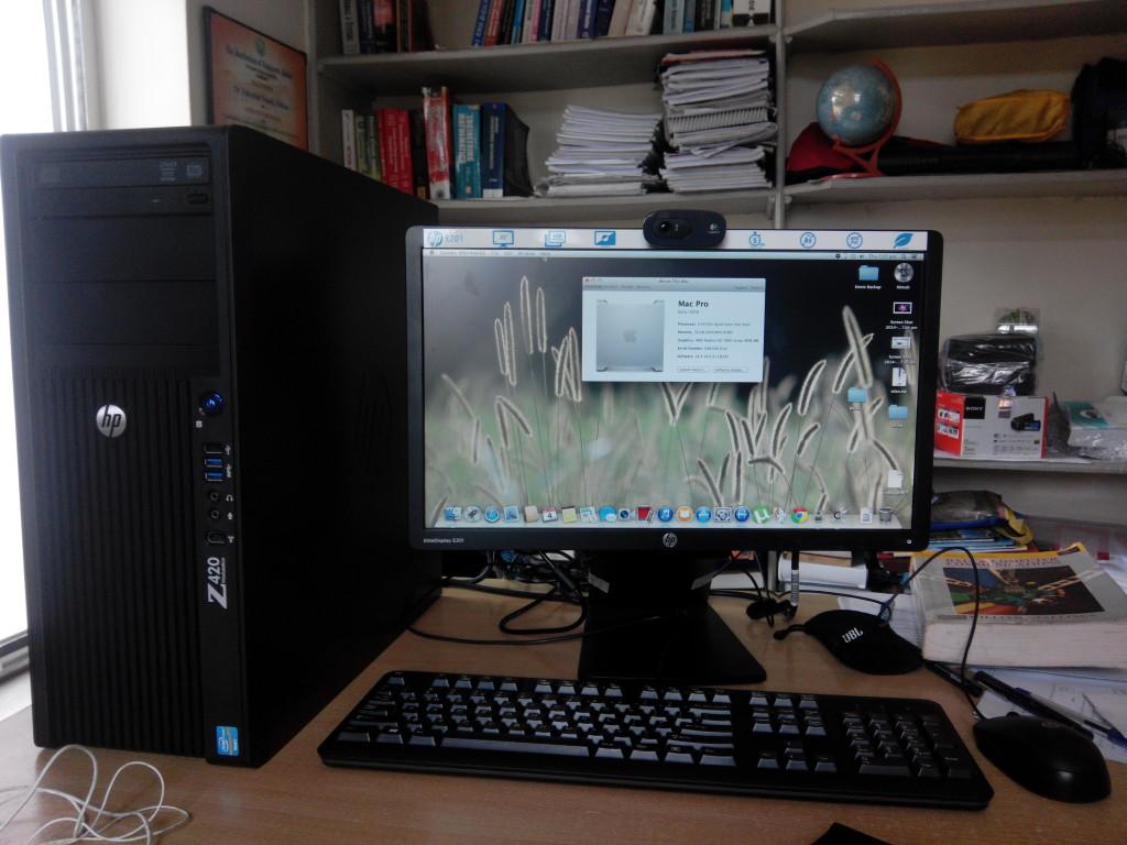 Installing Mac OSX 10 9 5 Mavericks on HP Z420 Workstation