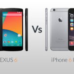 NEXUS 6 vs iPhone 6Plus