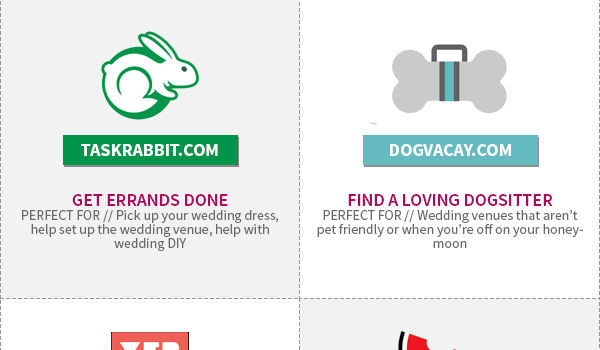Sharing Economy Sites For Your Wedding Infographic