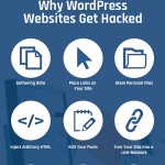 WordPress Hacks and Security – an infographic