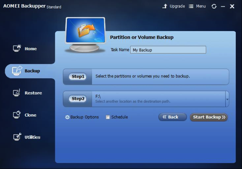 AOMEI Backupper Standard 3.0 – The Best Free Backup Software to Overcome Any Data Loss or System ...