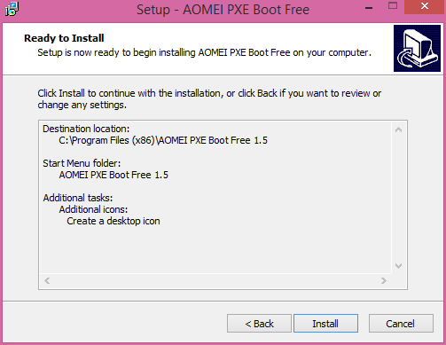 AOMEI PXE Boot Review – an easy tool to boot computers from the
