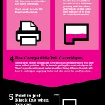 Reduce your ink costs – an infographic