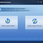 AOMEI OneKey Recovery review: Create your own system recovery partition