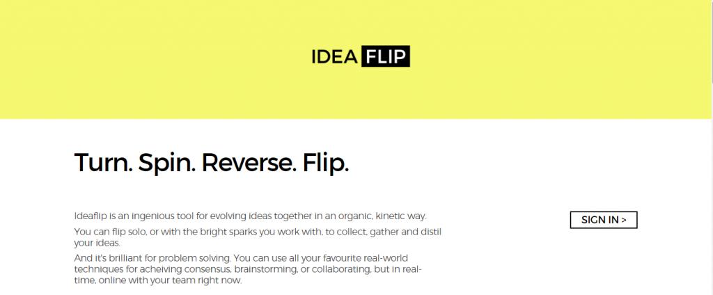 1. IdeaFlip