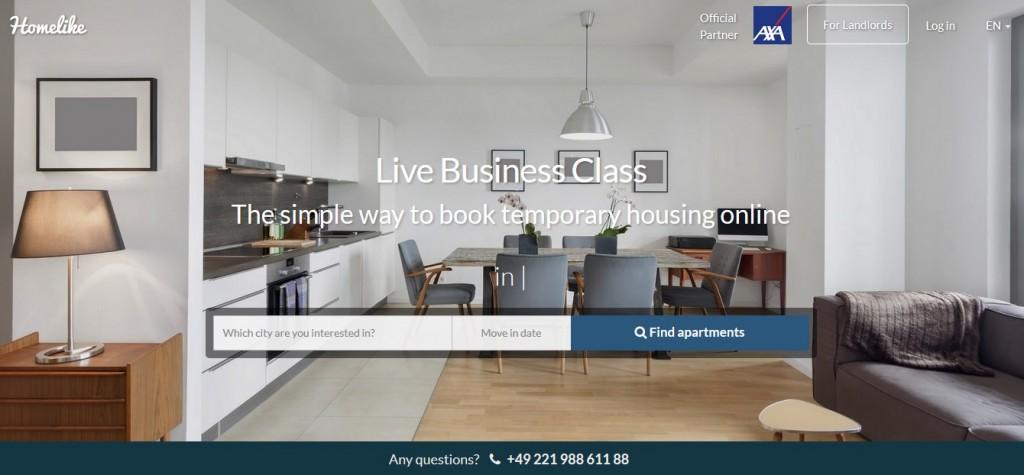 Screenshot_Homelike Webpage_english