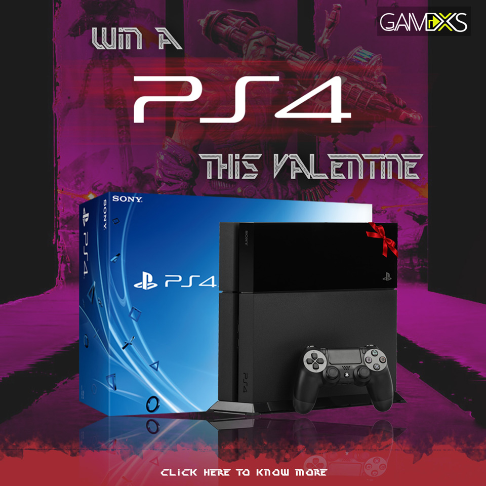 ps4 giveaway on facebook