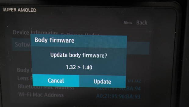 Why Updating Your Camera Firmware is Important and steps to do the
