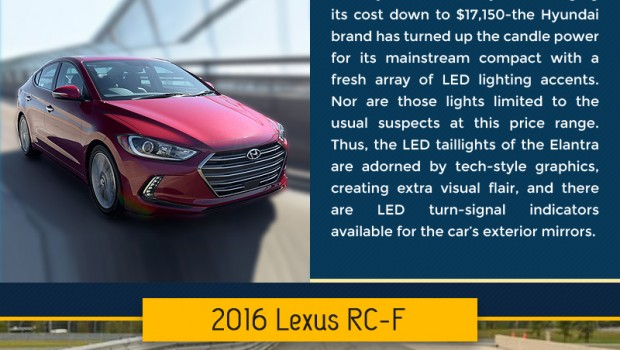 Cars with LED Lights that Outshine the Competition