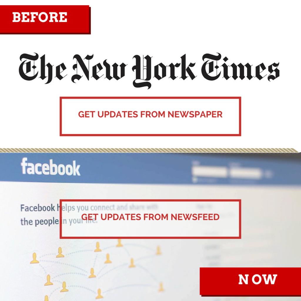 NewsPaper vs. NewsFeed