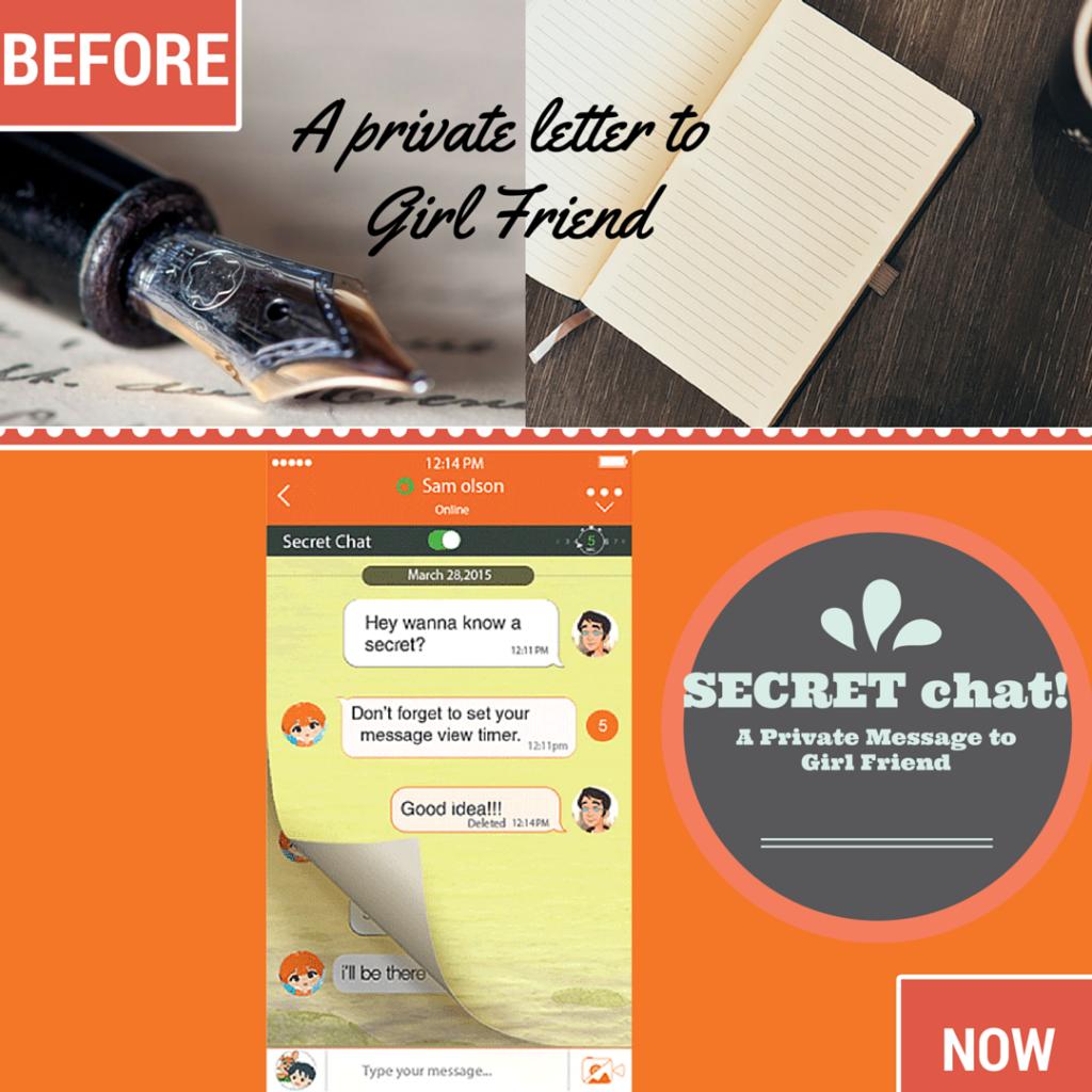 Private Letter VS Secret Chat