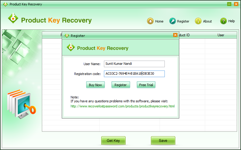 free registered softwares with serial keys