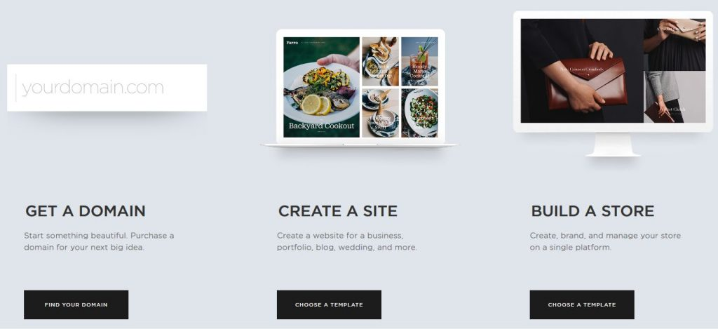 Squarespace - get started