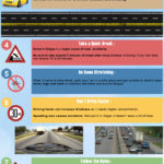 Summer Car Driving Safety Tips Infographic