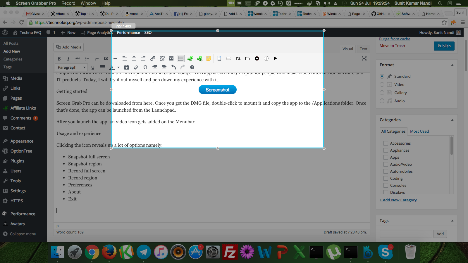 AceThinker Screen Grab Pro for Mac review – a handy