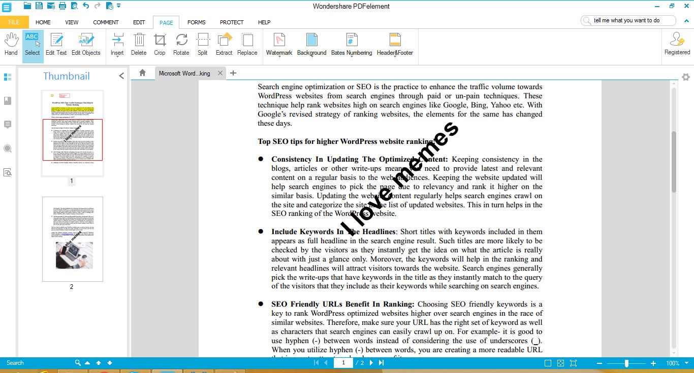 adobe acrobat pdf editing program