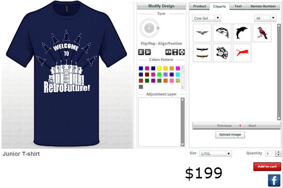 Create your own masterpiece with custom t shirt designer for Custom t shirt software