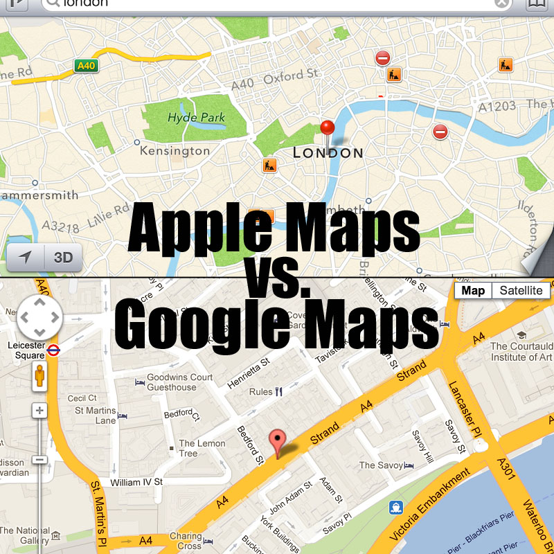 Google vs. Apple: Which Maps App Should You be Using ...