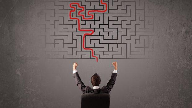 businessman-solving-a-maze