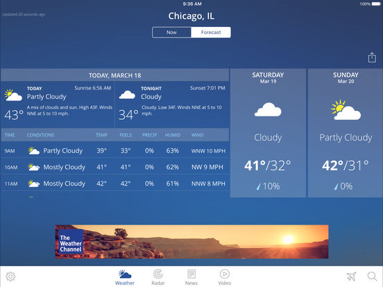 Weather Channel App Not Compatible With Iphone