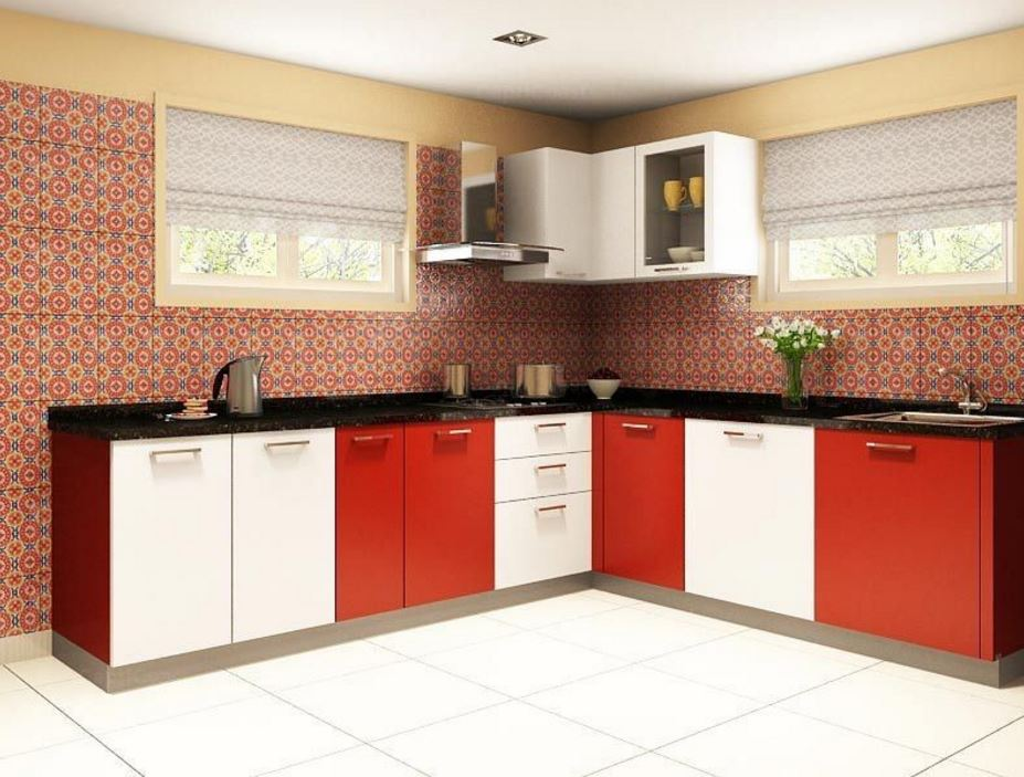 L Shaped Kitchen Design Plans