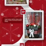16 Fabulous Outdoor Christmas Decorations [Infographic]