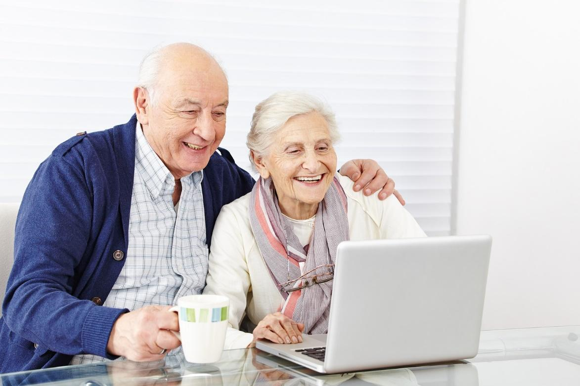 technology elderly parents cheaply assist efficiently them