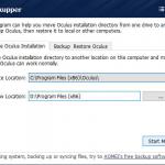 vrBackupper – Backup Freeware for Oculus Rift