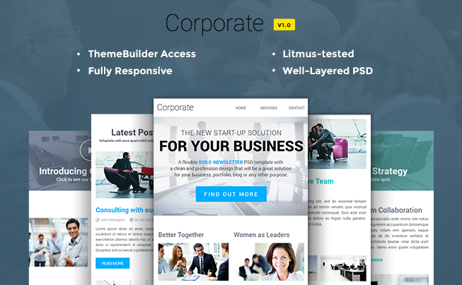 10 Foremost Multipurpose Responsive Email Templates | Techno FAQ