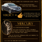 Cars and Mythology [Infographic]
