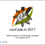 conf.KDE.in 2017 Live Blog – all the events as it happens
