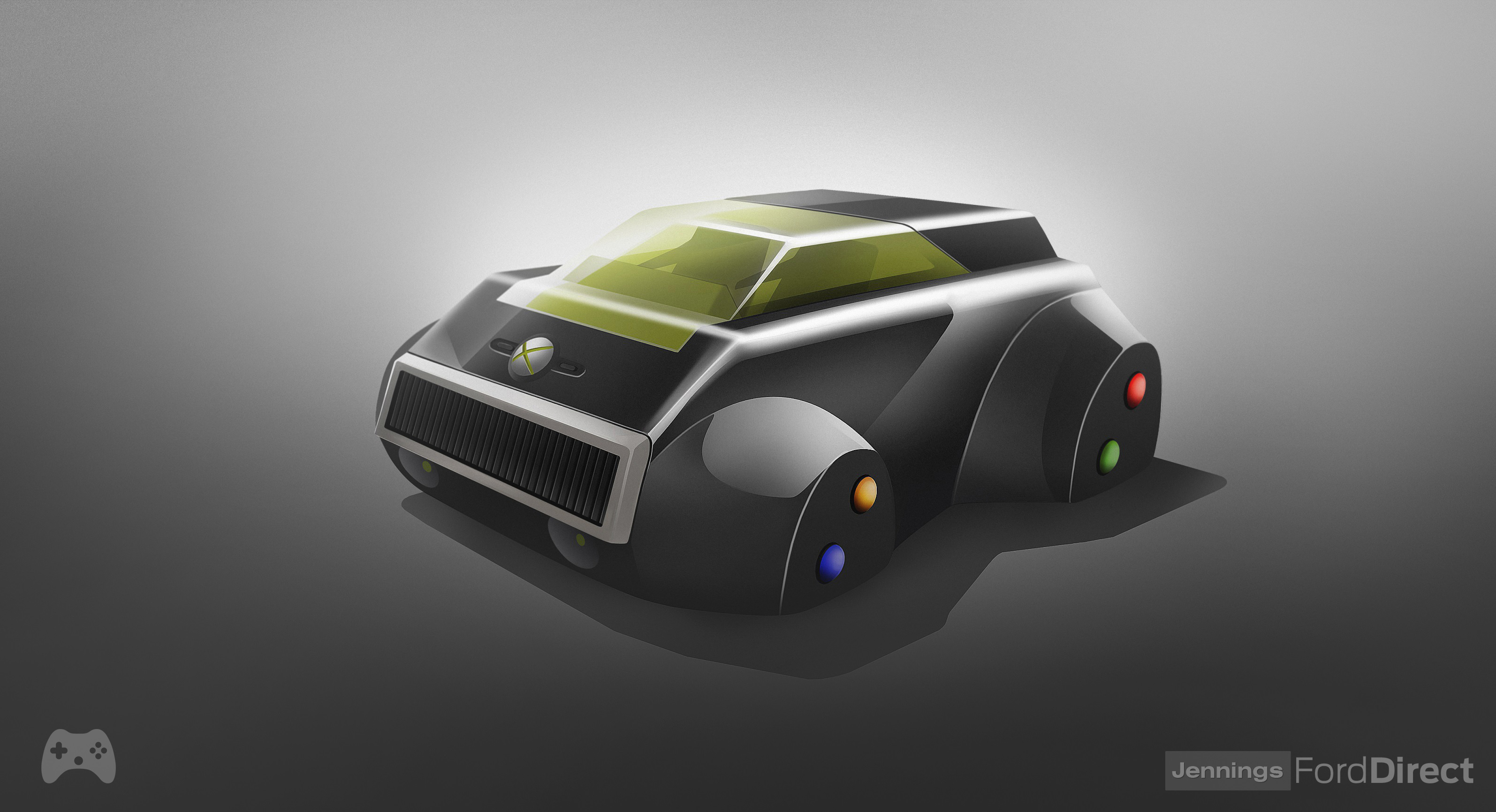 Design Classics Your Favorite Consoles Reimagined As Cars