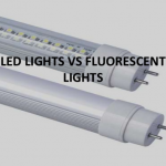Energy consumption comparison between LED light and florescent light