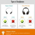 Things to consider when buying headphones & earphones [Infographic]