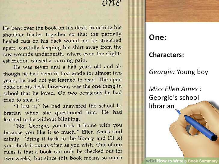 how to write a essay about a book Don't judge a book by its movie students love to watch the movie version of a book they have just read, whhich presents teachers with a valuable opportunity to teach compare-and-contrast/opinion writing this complete resource will take your students through the entire process of writing a 5.