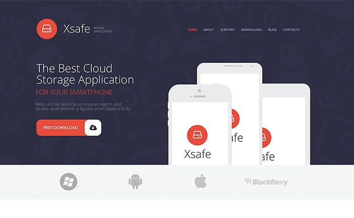 App Store WordPress Theme
