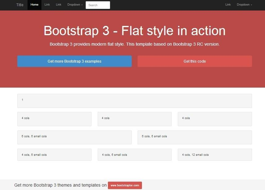 A Dummy\'s Guide to Bootstrap Templates | Techno FAQ