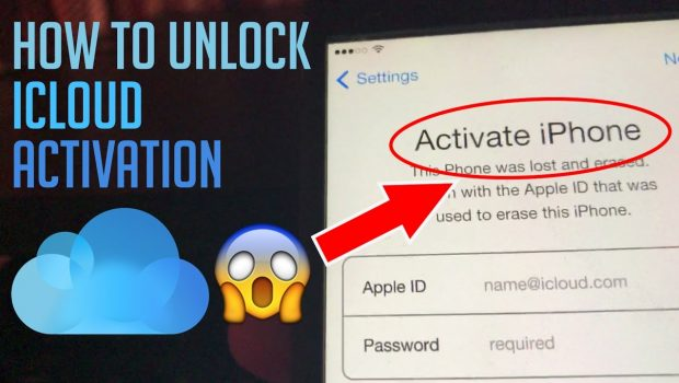 How To Unlock iCloud Activation Lock for iPhone 7 Plus 7 6S 6 5S 5