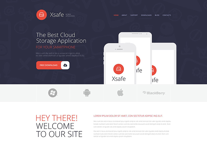 App Store WordPress Theme