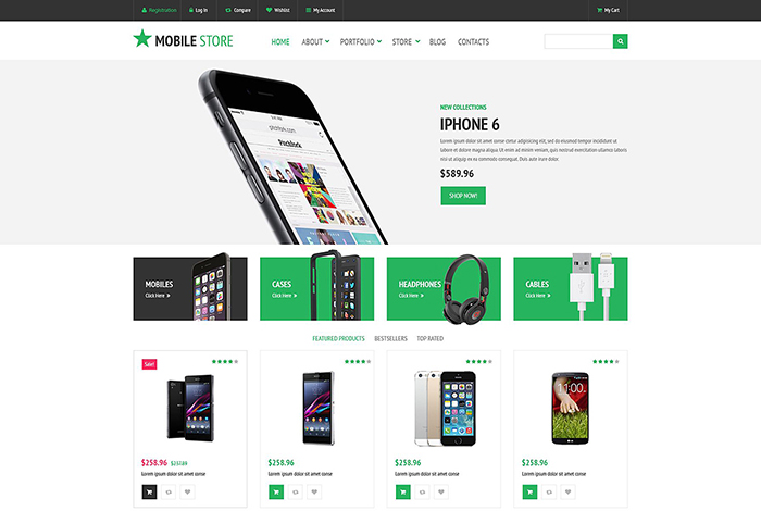 Mobile Phones WooCommerce Theme