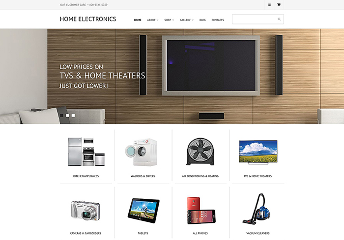 Electronic Store WooCommerce Theme