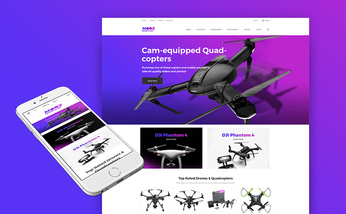 Electronic Shop WooCommerce Theme