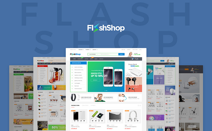 Flashshop - Multipurpose Premium WordPress Theme WooCommerce Theme